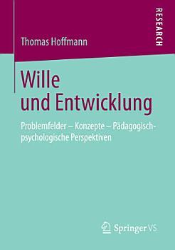 Wille und Entwicklung PDF