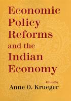 Economic Policy Reforms and the Indian Economy PDF
