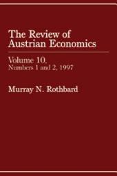 Review of Austrian Economics, Volume 10: Volume 10