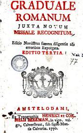 Graduale romanum juxta Novum missale recognitum
