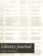 Library Journal: Volume 14