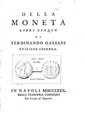 Della moneta: libli cinque