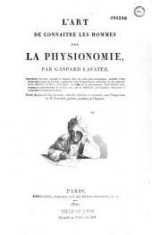 L'art de connaître les hommes par la physionomie