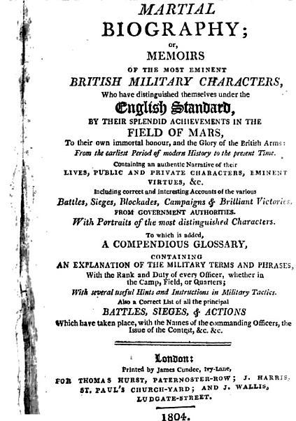 Download Martial Biography Book