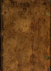 Dieß Buch begreifft in sich viel gütter geistlicher leeren, wie der Mensch, so er sich gewendet hat von Gott zu der Creatur, ainen widerker soll thun zu seinem ersten Ursprung