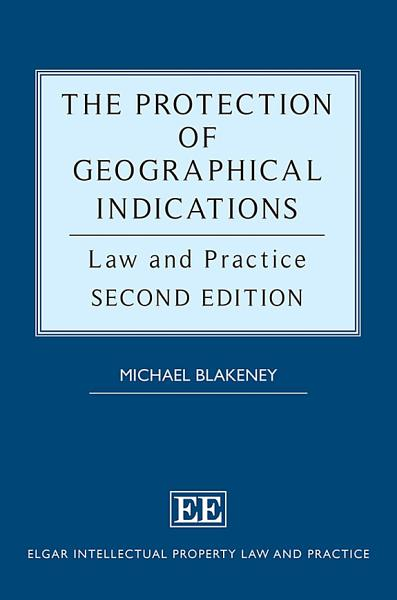 The Protection of Geographical Indications PDF