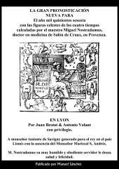 La gran pronosticacion nueva para 1560 de Nostradamus