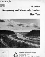 Soil Survey of Montgomery and Schenectady Counties  New York PDF