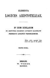 Elementa logices Aristoteleae