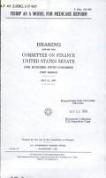 FEHBP as a Model for Medicare Reform PDF