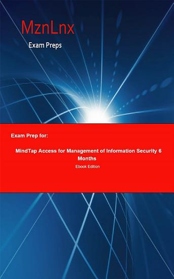 Exam Prep for  MindTap Access for Management of Information     PDF