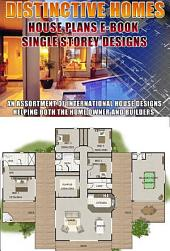 Home Design Book-Distinctive Homes-Floor Plans of low set single level homes House Plans: Australian Home Designs Book of Plans