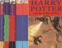 Harry Potter Box Set 4 Hardbacks.