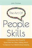 The Art Of People Skills Book
