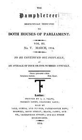 The Pamphleteer: Volume 3