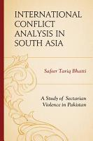 International Conflict Analysis in South Asia PDF