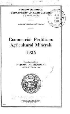 Commercial Fertilizers Agricultural Minerals