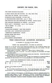The Christian Science Journal: Volume 11