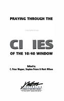 Praying Through the 100 Gateway Cities of the 10 40 Window PDF