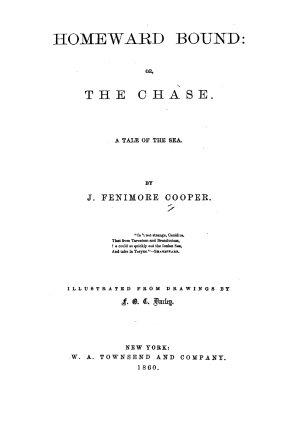 Cooper s Novels  Homeward bound PDF