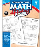 Common Core Math 4 Today, Grade 3: Daily Skill Practice
