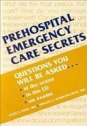 Prehospital Emergency Care Secrets PDF