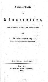 Naturgeschichte der Säugethiere nach Cuvier's Systeme bearbeitet