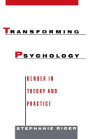 Transforming Psychology   Gender in Theory and Practice PDF