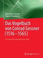 Das Vogelbuch von Conrad Gessner  1516 1565  PDF