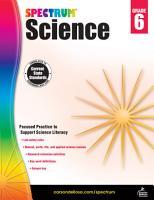 Spectrum Science  Grade 6 PDF