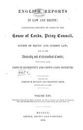 English Law and Equity Reports