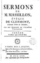 Sermons de M. Massillon ..., 4: Volume1