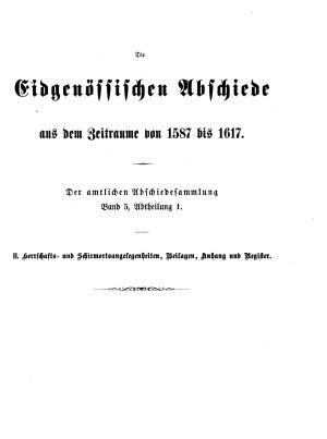 Amtliche Sammlung der   ltern Eidgen  ssischen Abschiede  1245 1798   PDF