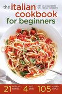 The Italian Cookbook for Beginners
