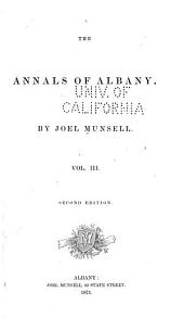 The Annals of Albany: Volume 3