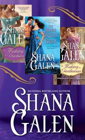 Shana Galen Bundle: The Making of a Duchess, The Making of a Gentleman, The Rogue Pirate's Bride