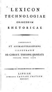 Lexicon technologiae Graecorum rhetoricae