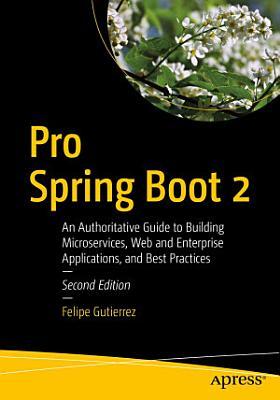 Pro Spring Boot 2 PDF