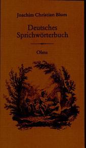 Deutsches Sprichwörterbuch: Band 2