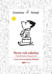 Nowy rok szkolny z tomu Nowe przygody Mikołajka. Minibook