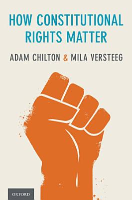 How Constitutional Rights Matter PDF
