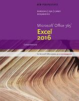 New Perspectives Microsoft Office 365   Excel 2016  Comprehensive PDF