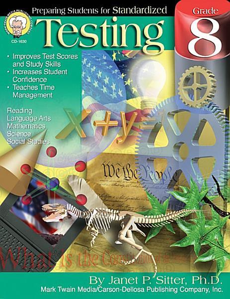 Preparing Students for Standardized Testing  Grade 8 PDF