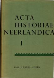 Acta Historiae Neerladica