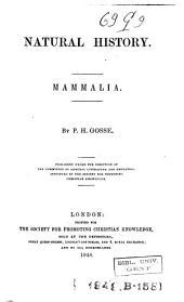 Natural History Mammalia