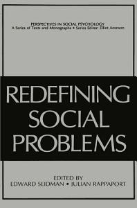 Redefining Social Problems Book