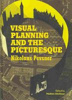 Visual Planning and the Picturesque PDF