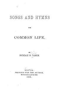 Songs and Hymns for Common Life Book