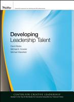 Developing Leadership Talent PDF