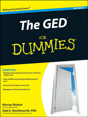 The GED For Dummies   PDF